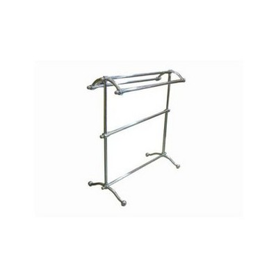 Pedestal Towel Rack Chrome - Kingston Brass