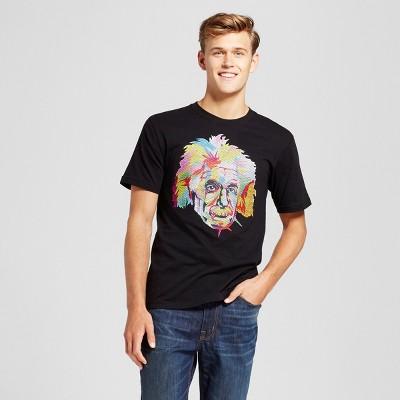 Men's Albert Einstein® Short Sleeve T-Shirt - Black
