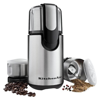 kitchen aid grinder utility carts kitchenaid coffee and spice bcg211 target