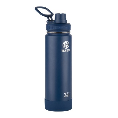 Takeya Actives 24oz Insulated Stainless Steel Bottle with Insulated Spout Lid
