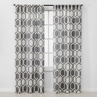 2pc Carter Light Filtering Window Curtain Panel - Project 62™