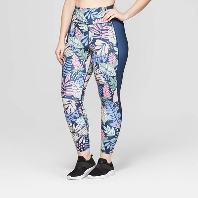 Women's Plus Size High-Waisted 7/8 Reversible Leggings - JoyLab™