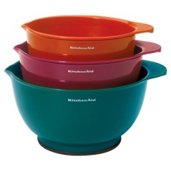 Kitchen Aid Bowls Paint Cabinets Without Sanding Kitchenaid Mixing Bowl 3 Piece Set With Non Slip Base Target