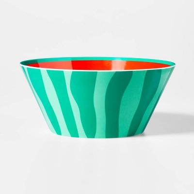107oz Plastic Watermelon Serving Bowl - Sun Squad™