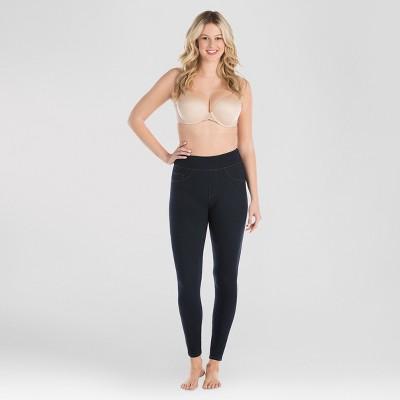 Assets By Spanx Women's Jean-Look Leggings - Indigo