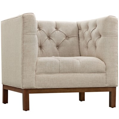 Panache Upholstered Fabric Armchair - Modway