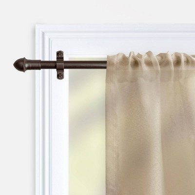 very small curtain rods target