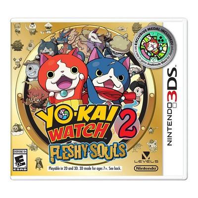 Yo-Kai Watch 2: Fleshy Souls - Nintendo 3DS (Digital)