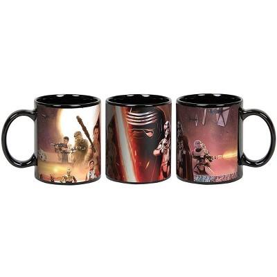 Star Wars The Force Awakens Wrap Around Scene 20 oz Ceramic Mug