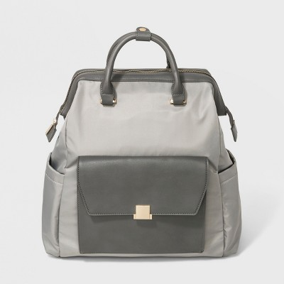 Double Zip Backpack - A New Day™ Gray