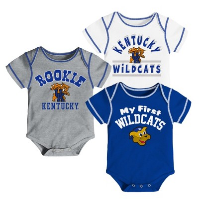 Kentucky Wildcats Baby Boys' 3pk Bodysuit