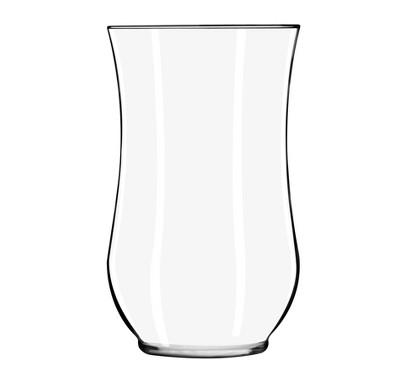 "Glass Hurricane Vase Clear 10.5"" - Libbey"