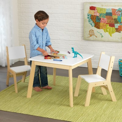 kids table with chairs thomas moser modern and chair set of 2 kidkraft target