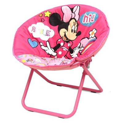 saucer chair for kids the silver summary minnie mouse pink disney target
