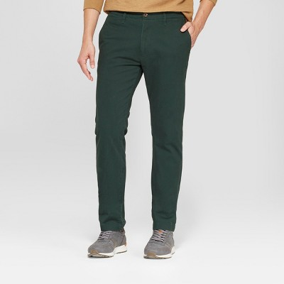 Men's Slim Fit Hennepin Chino - Goodfellow & Co™ Forest Green