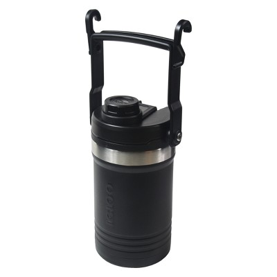 Igloo Half Gallon Logan Stainless Steel Vacuum Insulated Jug - Black