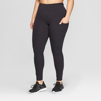 Women's Plus Size Urban Mid-Rise Leggings - C9 Champion® Black