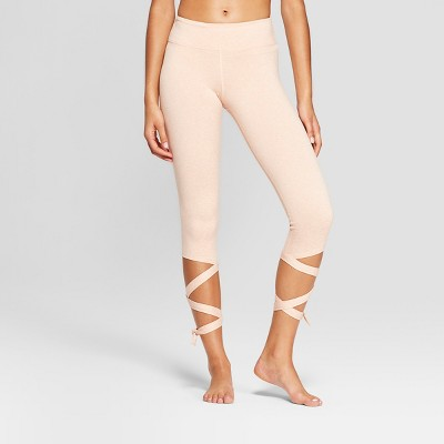 Women's Comfort Side Tie Mid-Rise Capri Leggings- JoyLab™
