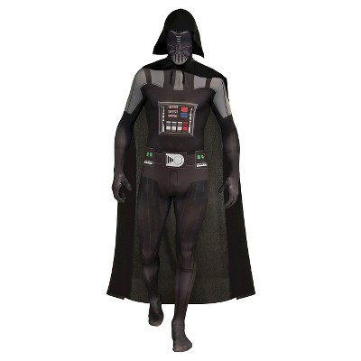 Star Wars Men's Darth Vader Skin Suit Costume