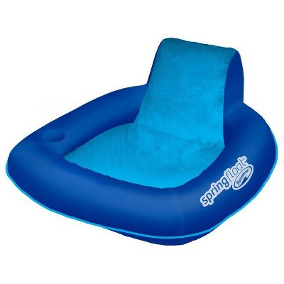 pool chair floats target office mat for carpet swimways spring float sunseat floating inflatable swimming lounge
