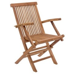 Teak Folding Chair Indoor Hanging Egg With Stand Modern Arm Natural Zm Home Target
