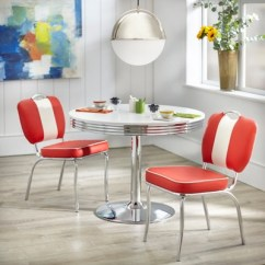 Retro Dining Room Chairs Dallas Cowboys Folding 3pc Raleigh Set Buylateral Target