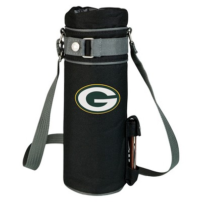 Picnic Time NFL Team Wine Sack Beverage Tote - Black