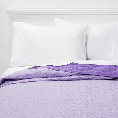 Triangle Stitch Microfiber Quilt - Pillowfort™