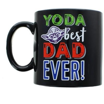 "Star Wars Yoda ""Best Dad Ever"" 20oz Father's Day Ceramic Coffee Mug"