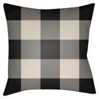 Flannel Throw Pillow - Surya : Target