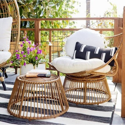 outdoor patio seating styled by emily