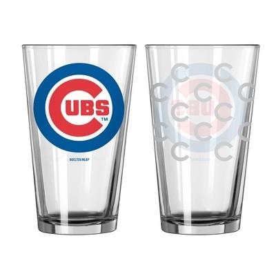 Boelter Brands MLB Chicago Cubs Set of 2 Pint Glass - 16oz