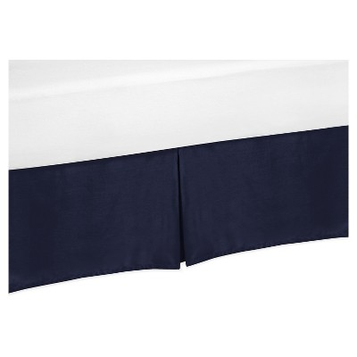Navy Bed Skirt - Sweet Jojo Designs®