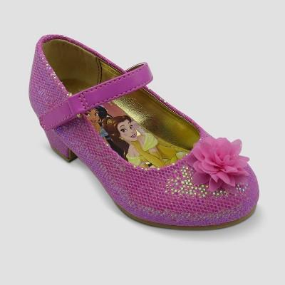 Toddler Girls' Disney Princess Dress Ballet Flats - Pink