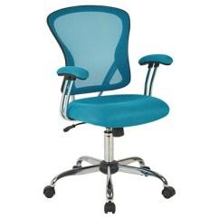 Turquoise Office Chair Verte Ergonomic Ave Six Juliana Task Blue Mesh Star Target