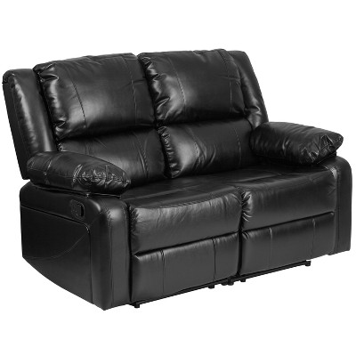 Leather Recline Loveseat - Riverstone Furniture Collection