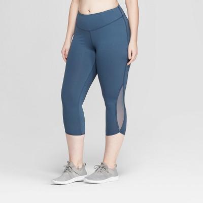 "Women's Plus Size Everyday Mid-Rise Capri Leggings 21"" - C9 Champion®"