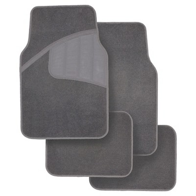 Rubbermaid Carpet Floor Mats Gray 4pk