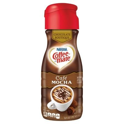 CoffeeMate Café Mocha Creamer 16oz Target