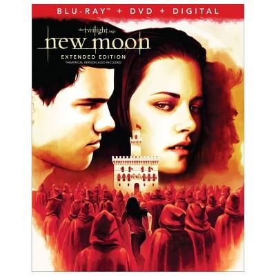Twilight Saga : The New Moon (Blu-Ray + DVD + Digital)