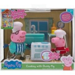 Pig Kitchen Vintage Step Stool Chair Peppa Playset Target