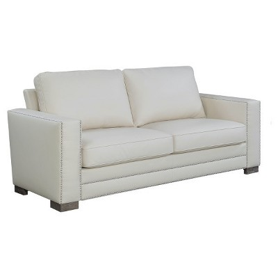 serta bonded leather convertible sofa back table designs mason 81 target