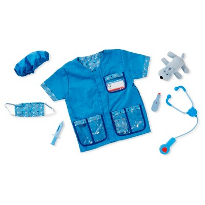 Melissa & Doug® Veterinarian Role Play Costume Dress-Up 9pc Set