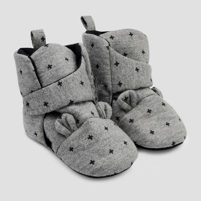 Baby Bear Crib Shoes - Cloud Island™ Gray