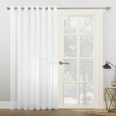 patio door grommet curtains target