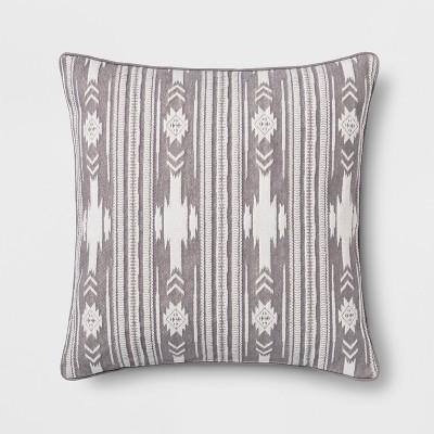 Southwest Stripe Oversize Square Throw Pillow - Threshold™