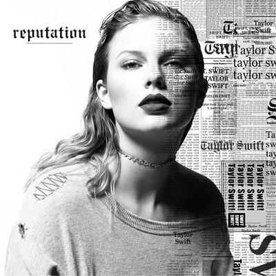 taylor swift reputation standard version cd