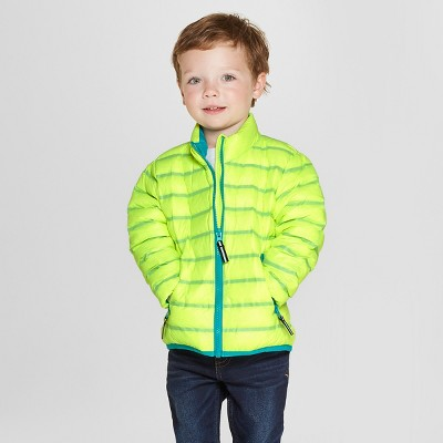 Toddler Boys' Down Puffer Jacket - Cat & Jack™ Yellow