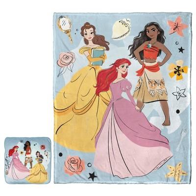disney princess cloud pillow and throw set