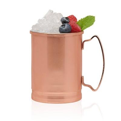 Libbey Moscow Mule Copper Mugs 14oz - Set of 4
